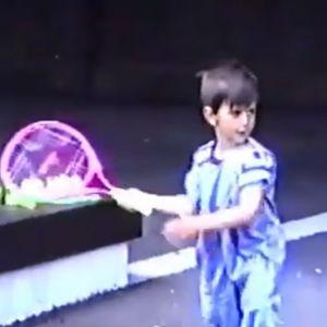 Ова сè уште не сте го виделе: Погледнете што правел Новак на само 4 години