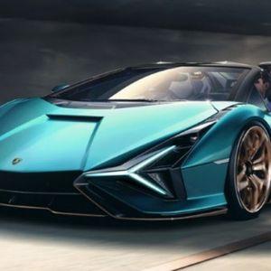 Пристигна новиот Lamborghini Sian Roadster