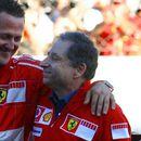 Жан Тод со Шумахер ја гледал трката за ГН на Бразил