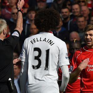 Пред четири години Џерард доби црвен против Јунајтед за 38 секунди!