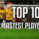 ТОП 10 најбрзи фудбалери!