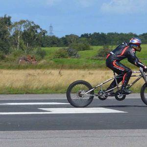 Британец возел велосипед со брзина од 280 км/ч