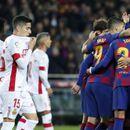 Три гола на Меси и бравура со пета на Суарез за триумф на Барса