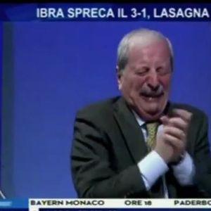 Така се слави! Новинарот Крудели плачеше по победата на Милан
