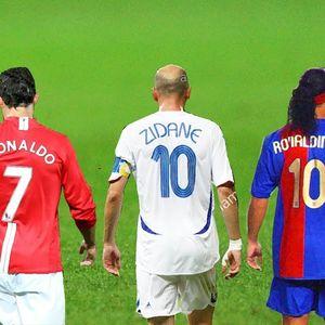 ТОП 5 легендарни голови на Роналдо, Меси, Зидан, Роналдињо