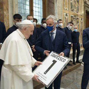 Папата честиташе на Специја за лудата победа над Рома