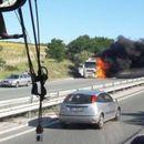 """Шофьор е загинал при катастрофата на магистрала """"Тракия"""", ударили са се тир и цистерна - Труд"""