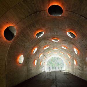 Трансформација на стар јапонски тунел во галерија