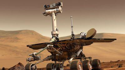 Последната панорама на возилото Opportunity на NASA