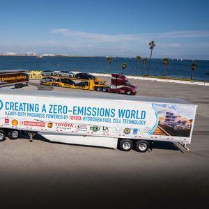 Toyota претстави унапреден камион на водороден погон (ВИДЕО)