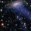 Се појави мистериозна галаксија во форма на медуза