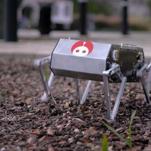 Сега и пес робот може да направи салто наназад