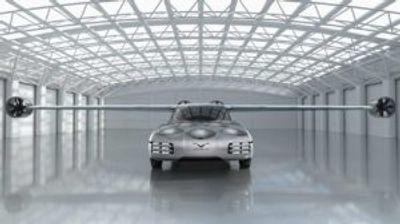 Aska е летачки автомобил кој полетува и слетува како хеликоптер