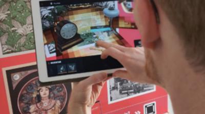 Патниците се забавуваат со дигитална загатка во виенското метро