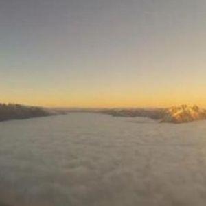 Застрашувачка снимка од она што го гледаат пилотите, но не и патниците