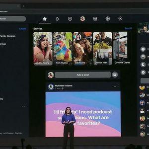 Facebook тестира Dark mode и интерфејс во стилот на Twitter