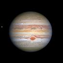 Нови фотографии открија бура на Јупитер (ВИДЕО)