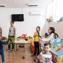 Учениците од 5-А во посета на дневниот центар во Валандово