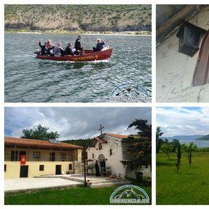 Група верници од Прилеп 17 години го посетуваат и помагаат манастирот Св. Марина во Мала Преспа (ФОТО/ВИДЕО)