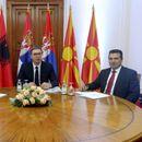 Заев, Вучиќ и Рама усвоија Декларација за слободен проток на стоки и луѓе