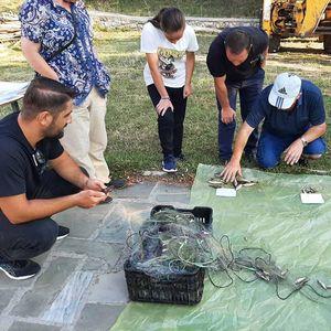 ВоНационален парк Преспасе одржува обука за методологијата на набудување и проценка на рибниот фонд воОхридското Езеро идвете Преспански езера