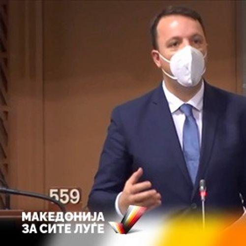 Николоски од Стразбур до Бугарија: Може колку сакате да не блокирате, за ЕУ ние сме Македонци и зборуваме македонски јазик, тоа го знае цела Европа