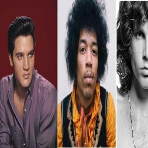 Вака ќе изгледаа великаните на рок ен ролот денес, да беа живи: Џон Ленон, Елвис Присли, Џими Хендрикс, Џим Морисон…