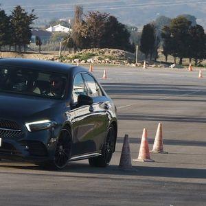 """Mercedes-Benz A250 e Sedan na visini zadatka prilikom testa """"severnog jelena"""""""