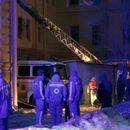 Десетки блокирани под руините след срутване на университет в Санкт Петербург