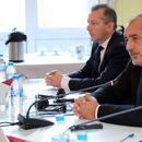 Борисов, Цацаров и Георгиев на среща с посланиците от ЕС