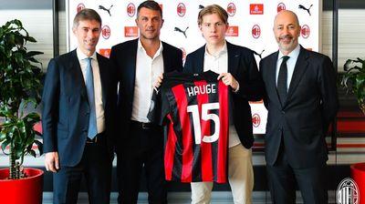 Им даде гол и го купија, Милан го потврди трансферот на Хауге