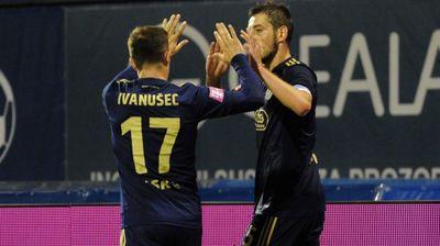 Динамо Загреб со два гола на Адеми се пласира во групната фаза од Лига Европа, таму ќе игра и Црвена звезда