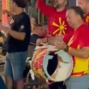 Каков цар: Македонскиот фан уште чука на дупнатиот тапан низ улиците Букурешт