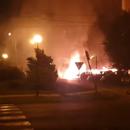 Izgorelo 8 automobila kod Lepe Brene!
