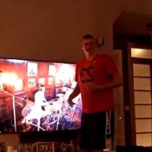 Supruga snimala Jokića: Ovako naša NBA zvezda luduje uz narodnjake!