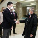 Ministar Udovičić se sastao sa prvim potpredsednikom FINA!