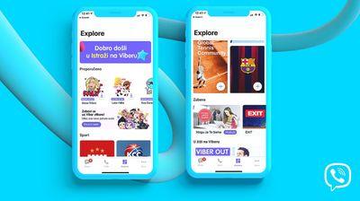 """Rakuten Viber donosi svojim korisnicima sadržaj odabran posebno za njih kroz novu opciju – """"Istraži"""""""