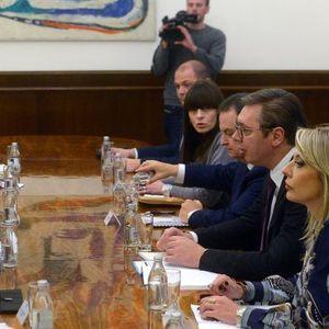 Vučić: Integracija u EU garancija stabilnosti regiona VIDEO