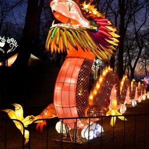 """Kineski festival svetla na Kalemegdanu: """"Duh tradicije i simbolike drevne Kine"""" FOTO"""
