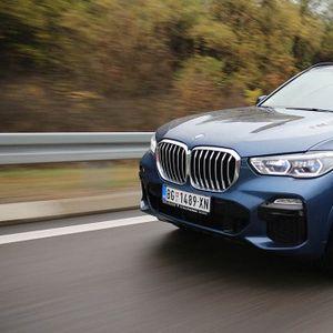 Test: BMW X5 xDrive30d – kristalna dvorana