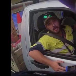 Napala ga zmija dok je vozio, policija ga zaustavila zbog brze vožnje VIDEO