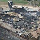 Luksuzna vikendica izgorela do temelja, sumnja se da je prvo obijena pa zapaljena FOTO
