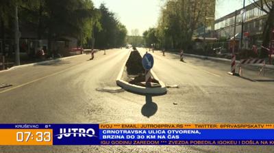 Privremeno pušten saobraćaj u Crnotravskoj ulici VIDEO