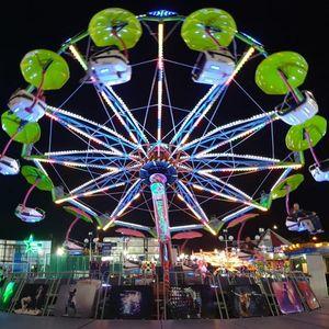 Mega luna park u gradu još do nedjelje