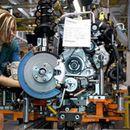 Прометот во индустријата намален на месечно, зголемен на годишно ниво