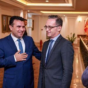 Премиерот Заев и министерот за надворешни работи на СР Германија: Двете земји ќе направат сѐ што е потребно за позитивна одлука во скорешна временска рамка за да се овозможи европскиот пат на Северна Македонија