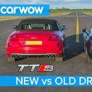 Утринска Гимнастика: Новиот Audi TTS против стариот Audi R8!