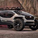Audi AI:Trail е визија за автономно теренско возило од иднината