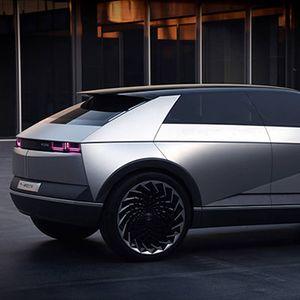 Hyundai го најавува дизајнот на своите електрични модели со 45 EV Concept