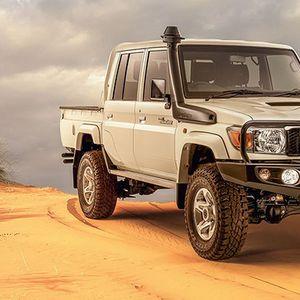 Toyota Land Cruiser Namib е ретро-фантастичен – и резервиран само за Африка.
